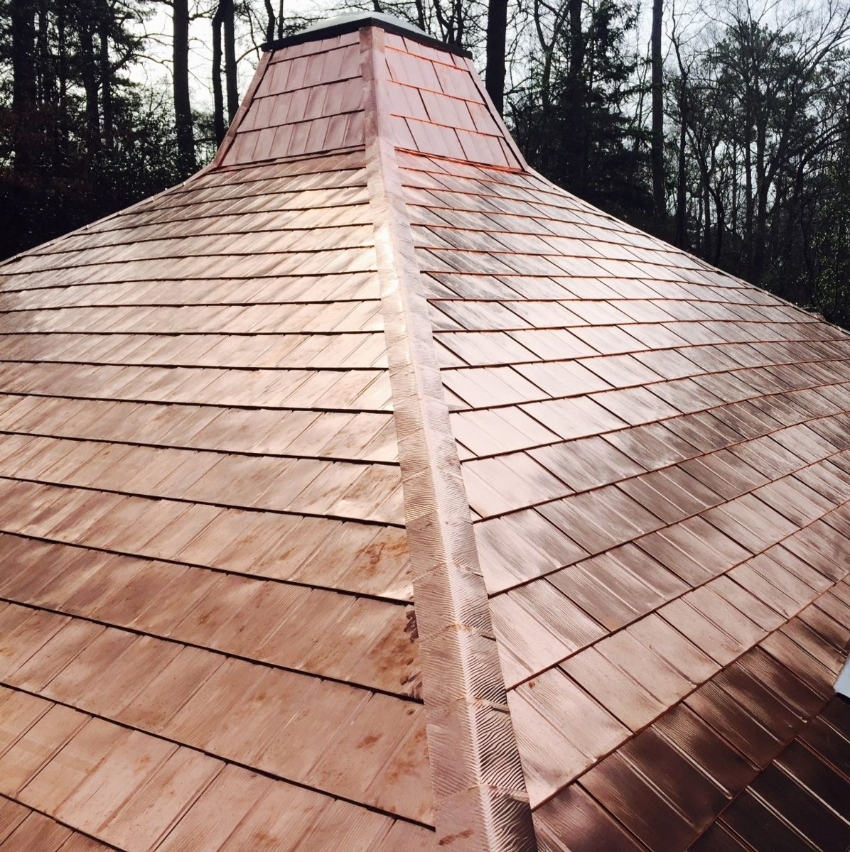 Copper roofing 478 745 6563 for Most expensive roof material